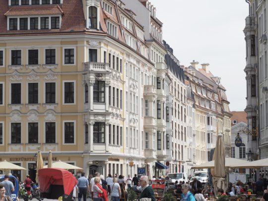 ドレスデンの旧市街
