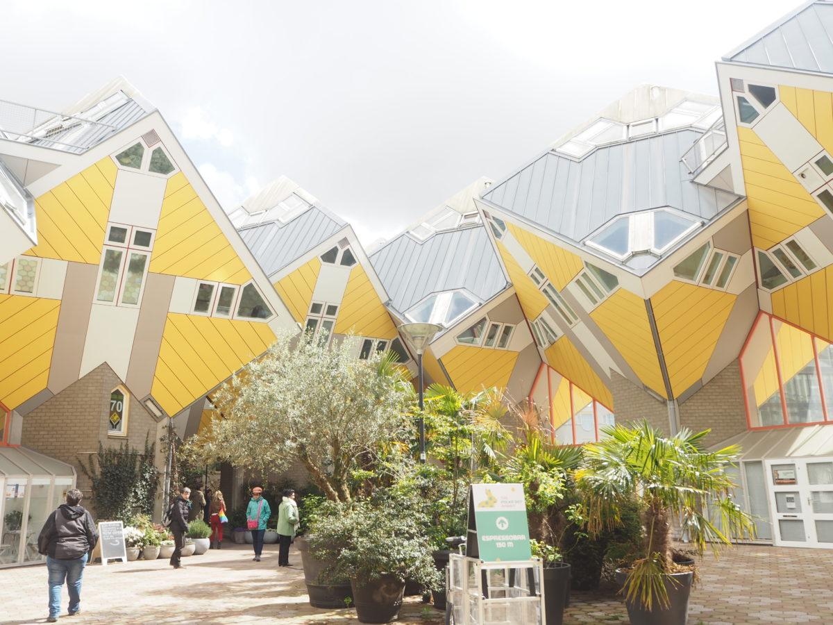 ロッテルダムのキュービックハウス