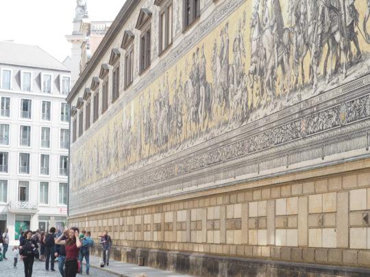 ドレスデン王宮君主の行列