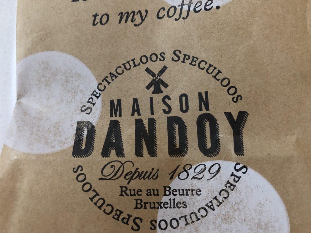 """ブリュッセルのカフェ""""DANDOY""""のクッキー"""