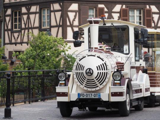 コルマールの観光列車