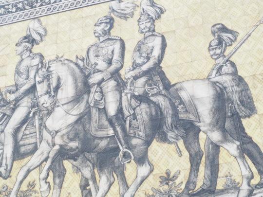 ドレスデン王宮のマイセンタイル