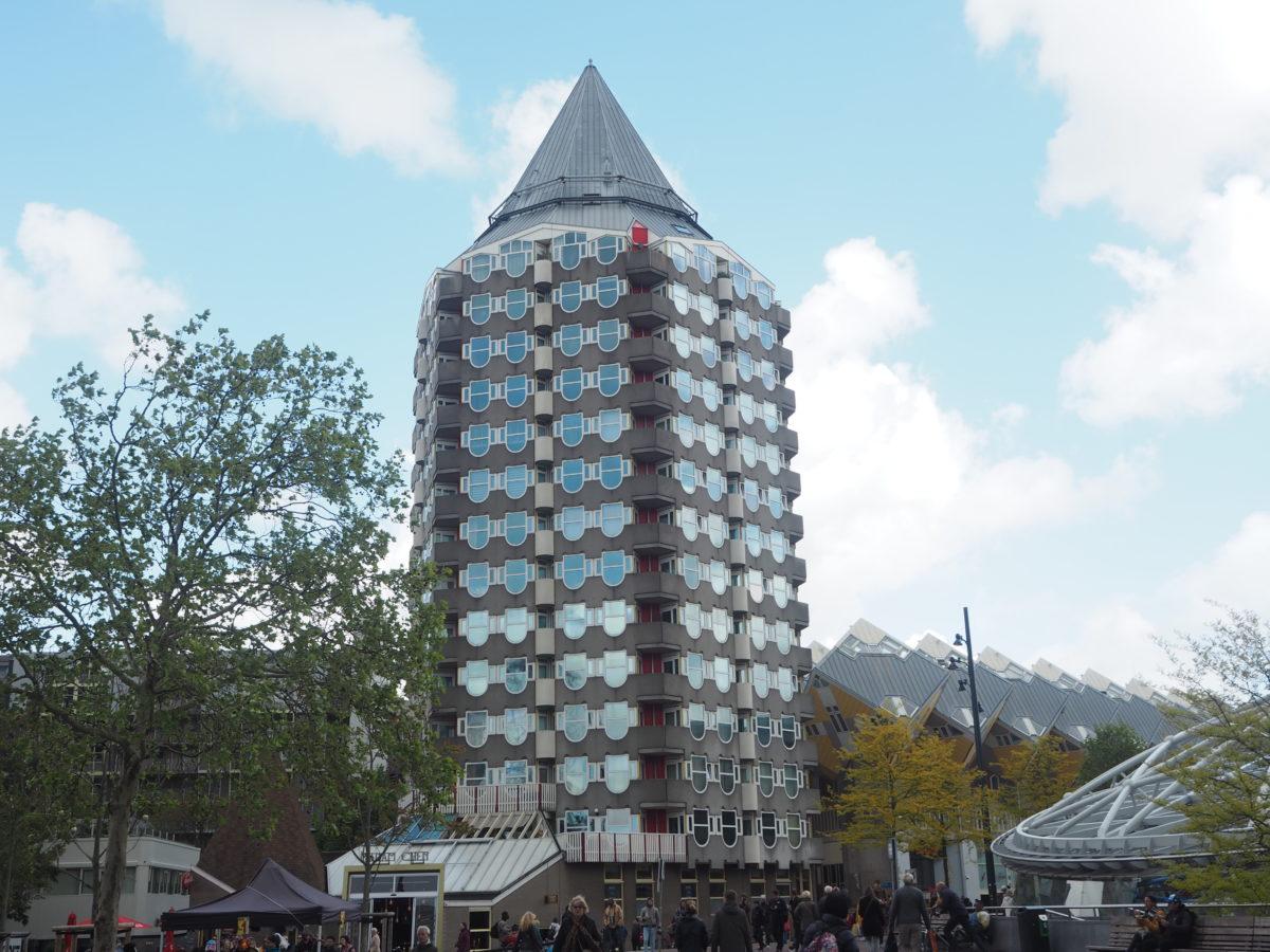 ロッテルダムの奇抜な建物