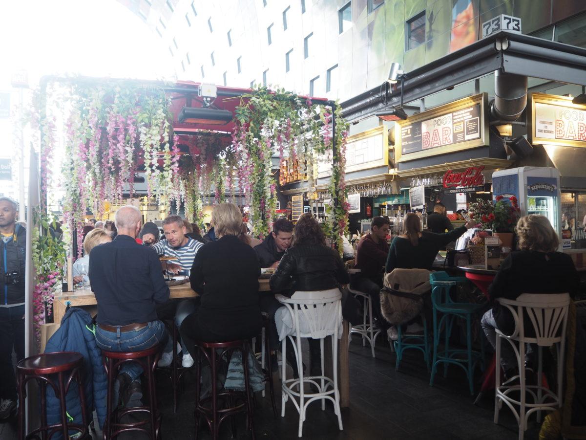 ロッテルダムの市場