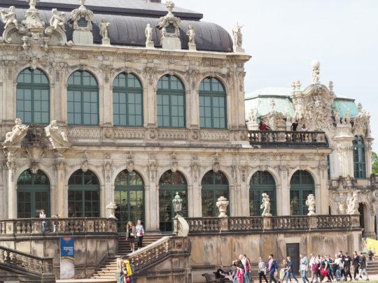 ドレスデンのツヴィンガー宮殿