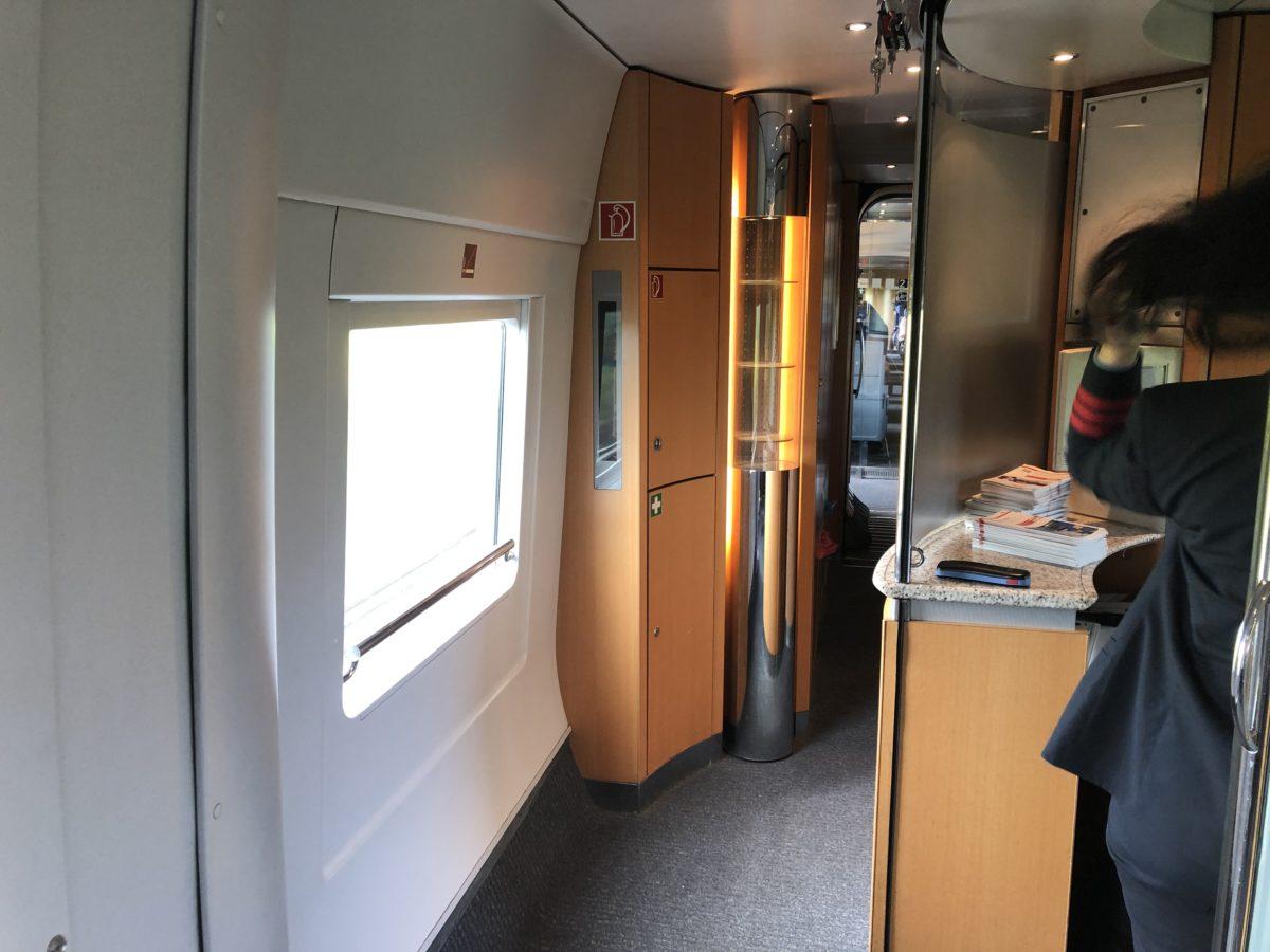 ドイツ鉄道の車掌室