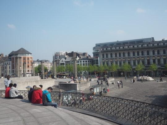リエージュの広場