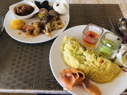 ムリアリゾート ザ・カフェのビュッフェ朝食