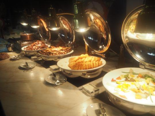 ムリアリゾート ザ・カフェのビュッフェ朝食 朝食