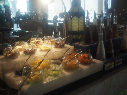 ムリアリゾート ザ・カフェのビュッフェ朝食 コンポート