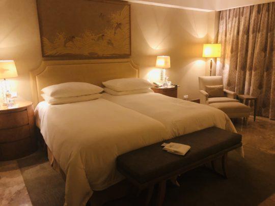 ムリアリゾートのお部屋 グレンジャーデラックスのツインベッドルーム