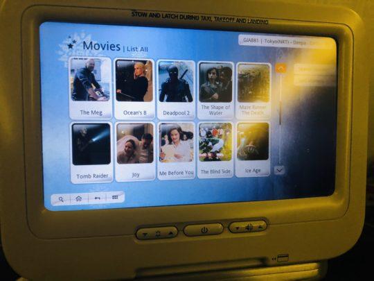 ガルーダインドネシア航空の映画