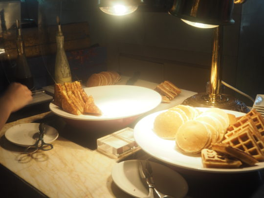ムリアリゾート ザ・カフェのビュッフェ朝食 フレンチトースト