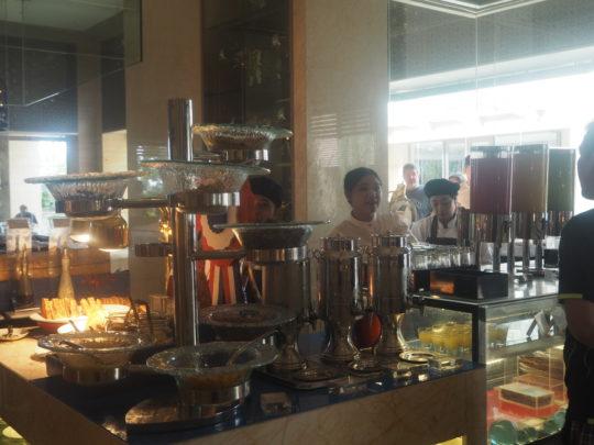 ムリアリゾート ザ・カフェのビュッフェ朝食 シリアル