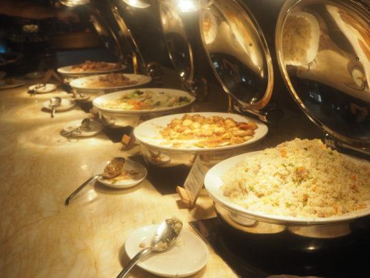 ムリアリゾート ザ・カフェのビュッフェ朝食 中華