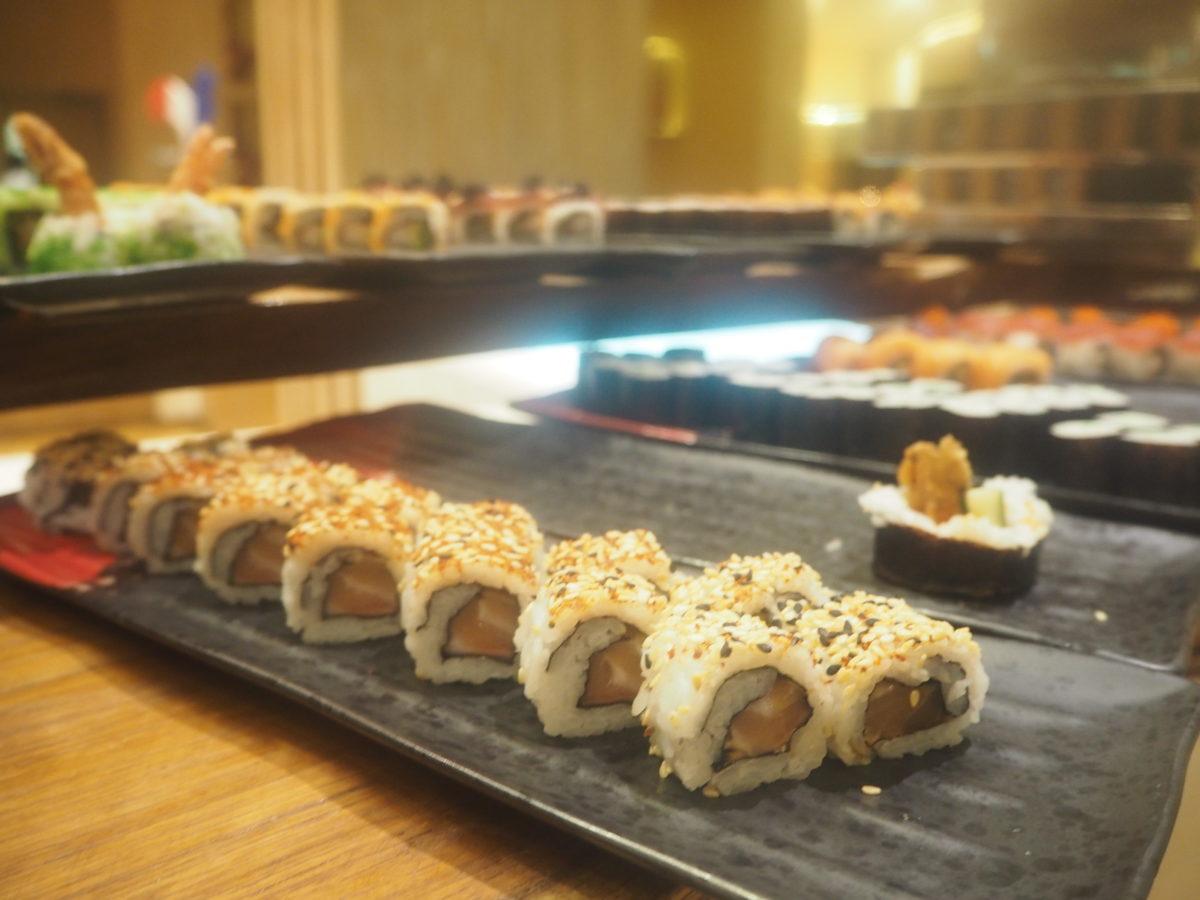 ムリアリゾート ザカフェ ディナー 巻き寿司