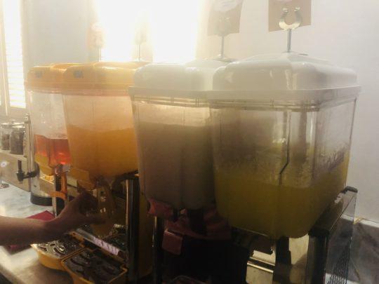 バリ ンガガライ国際空港プライオリティラウンジの飲み物