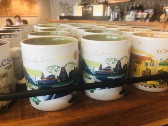 バリの観光地スタバマグカップ