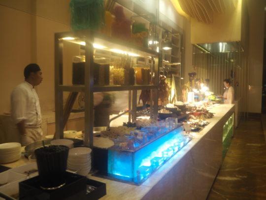 ムリアリゾート ザカフェ 韓国料理