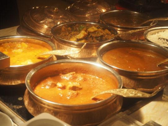 ムリアリゾート ザカフェ ディナー カレー
