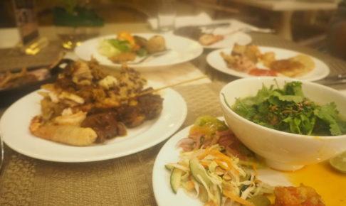 ムリアリゾート ザカフェのブッフェディナー