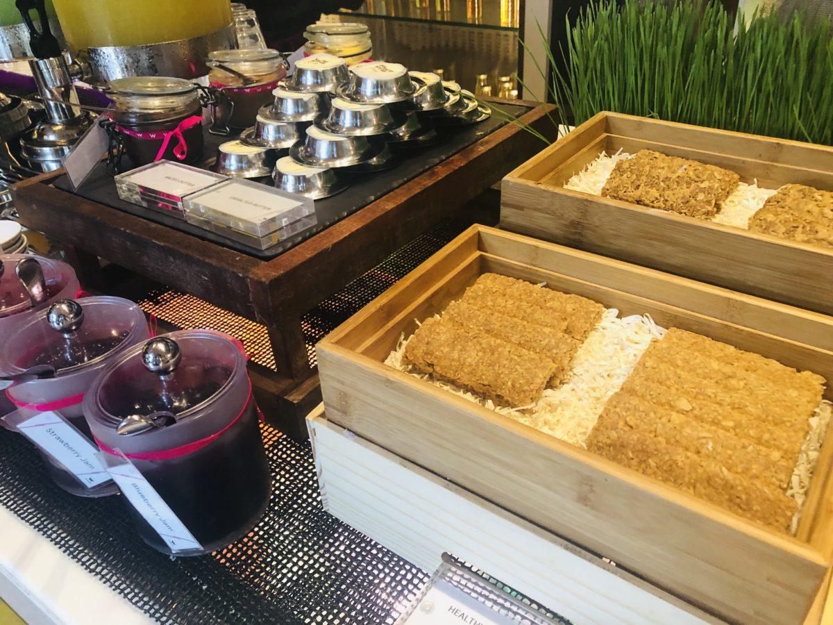 タイのWバンコクホテルの朝食 クッキー