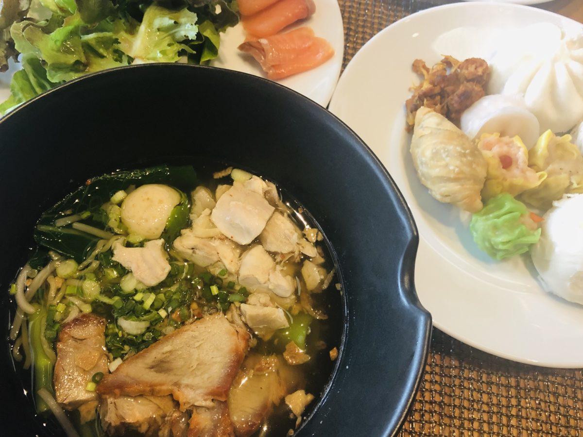 タイのWバンコクホテルの朝食