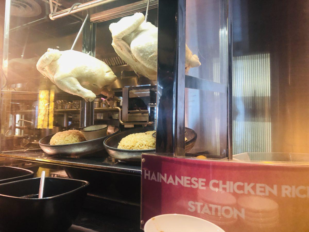 タイのWバンコクホテルの朝食 ハイナンライス