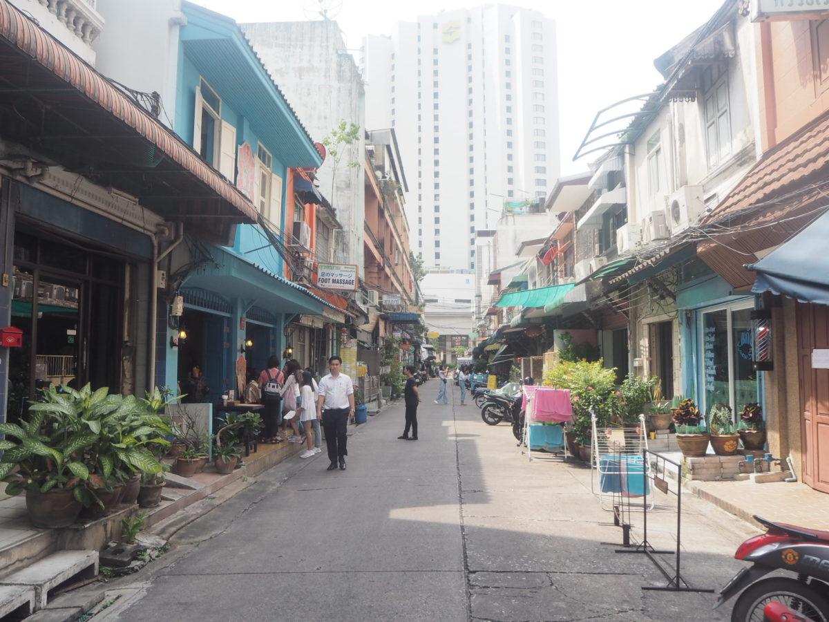 バンコクのレストラン「バーン・パッタイ」の行き方・アクセス