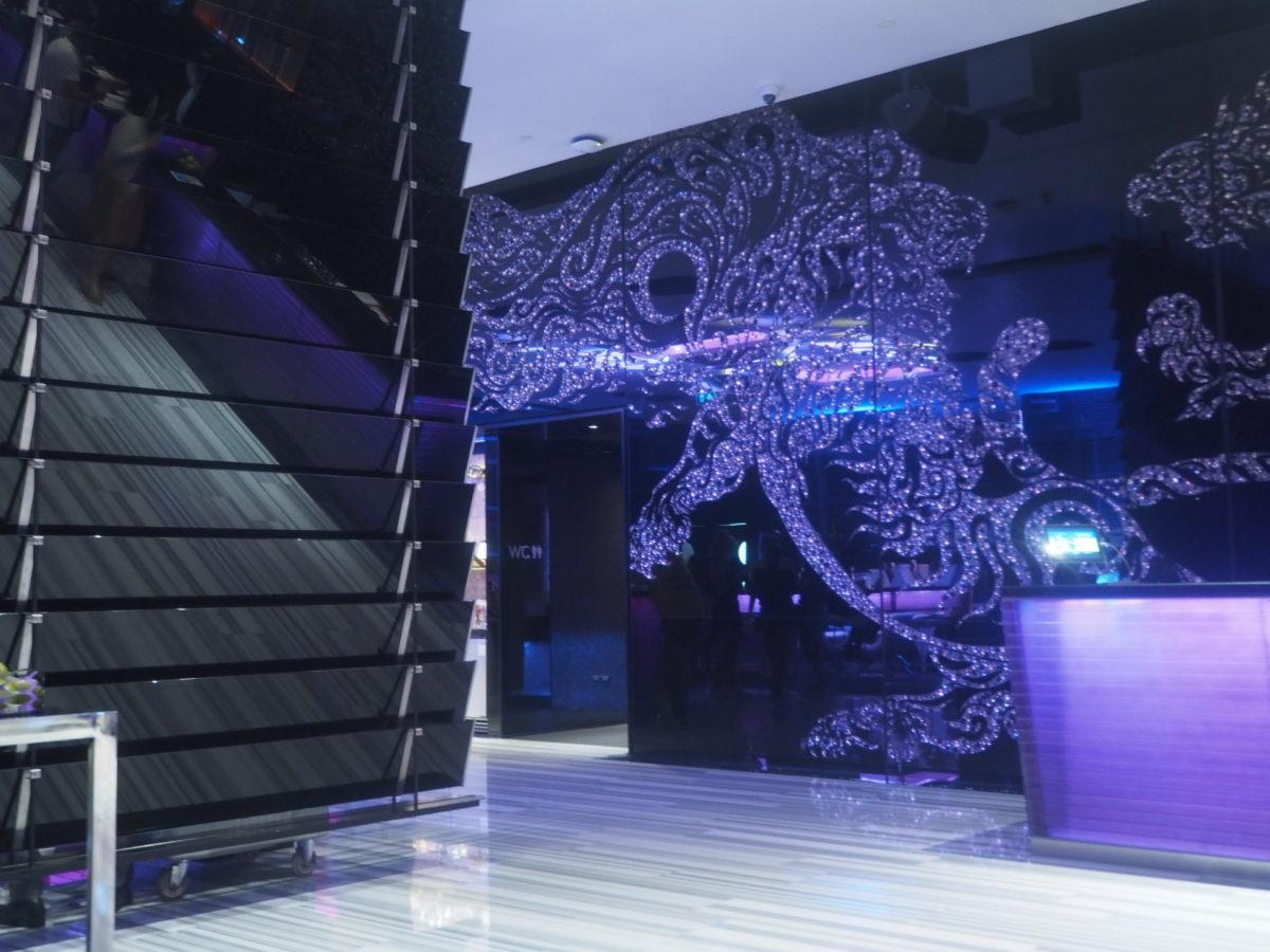 タイのWバンコクホテルのロビー