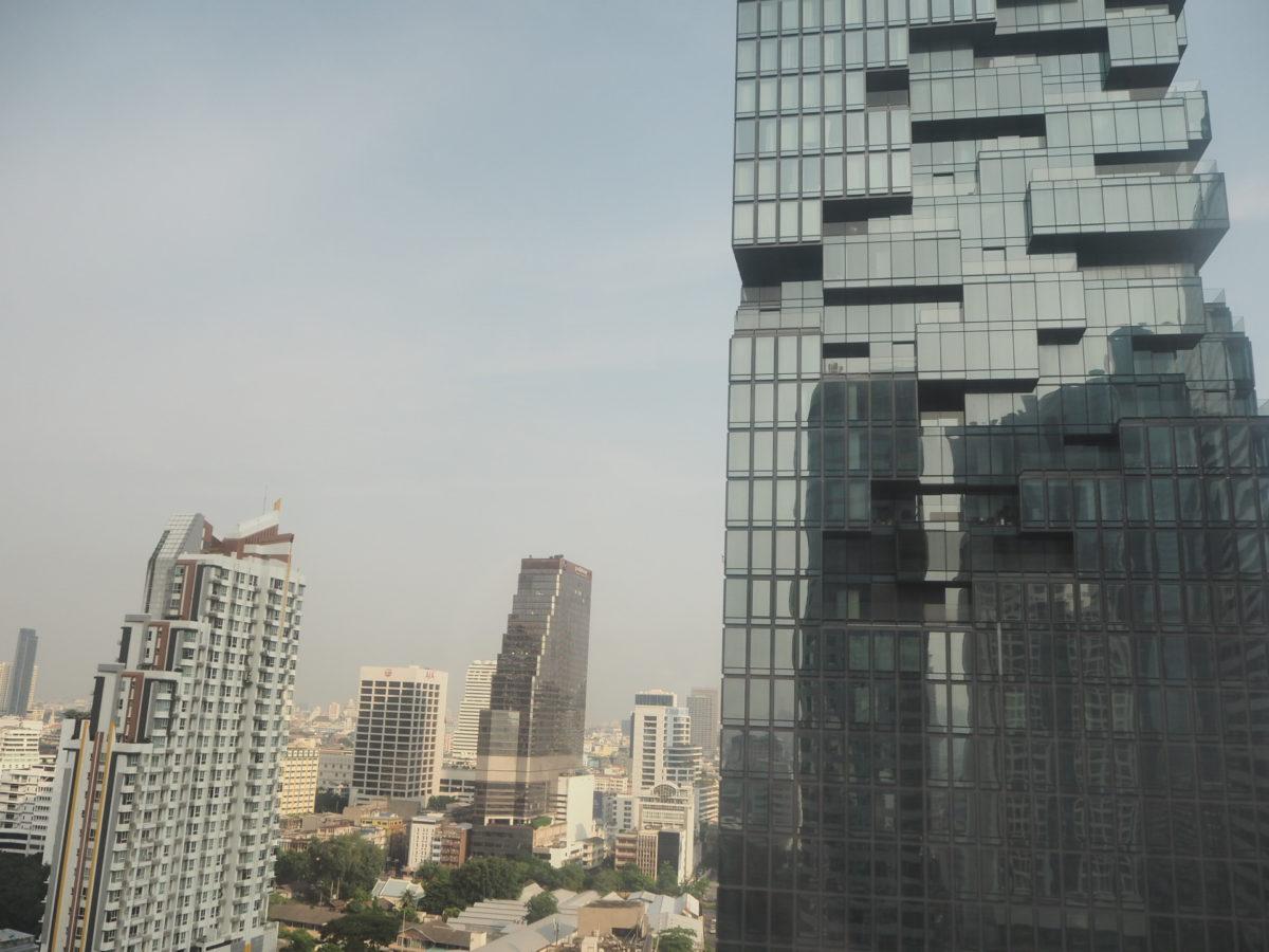 タイのWバンコクホテルから見えるマハ・ナコン