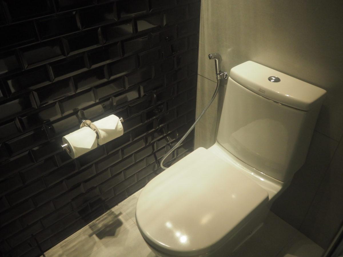 タイのWバンコクホテルのトイレ