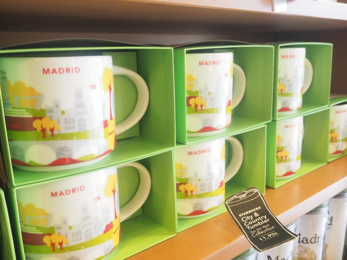 スペインのスタバのマドリードデザインマグカップ