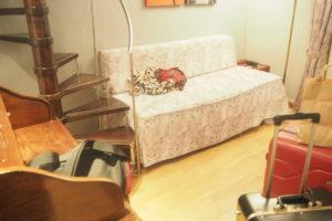 バルセロナの「ホテルリアルト」の部屋