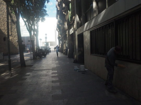 LA CHINATA(ラ・チナータ)前の通り