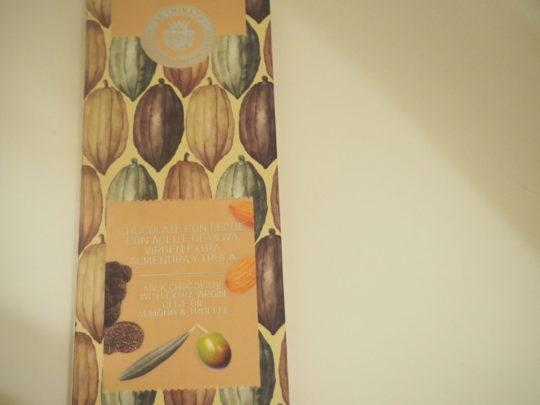 LA CHINATA(ラ・チナータ)の板チョコレート
