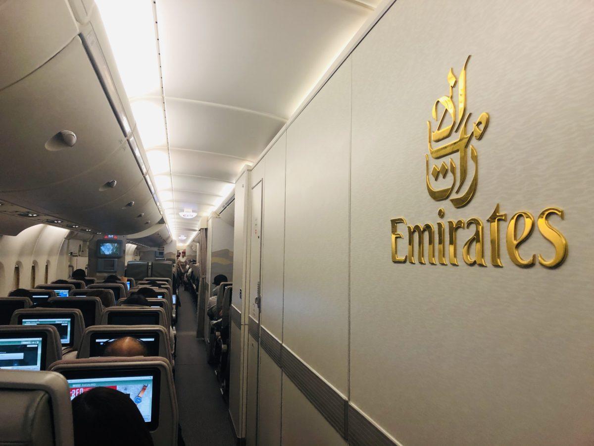 エミレーツ航空の機体