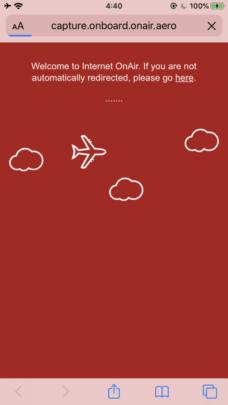 エミレーツ航空 ネット接続