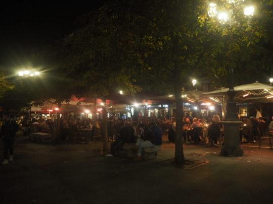 Plaza de Santa Ana(サンタ・アナ広場)