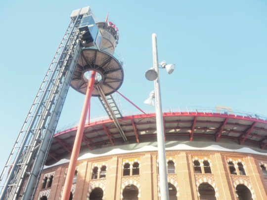 Arenas de Barcelona(アレナス・デ・バルセロナ)のエレベータ