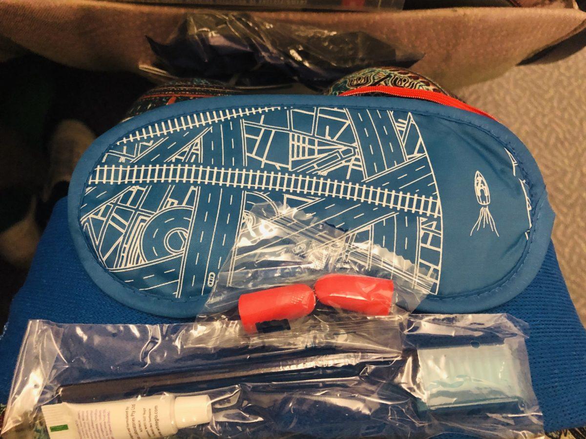 エミレーツ航空のアメニティ袋