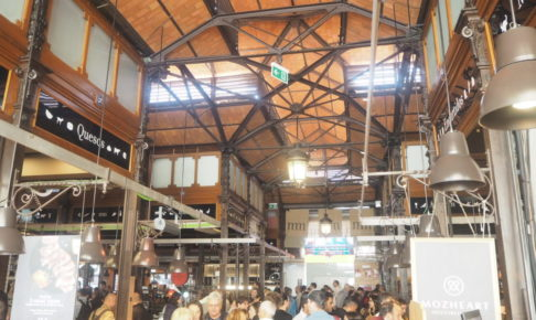 マドリードのサンミゲル市場