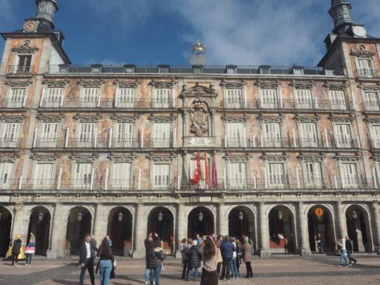 マドリードの市庁舎