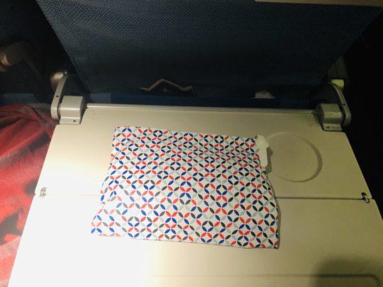 トルコ航空(ターキッシュエアラインズ)のエコノミーアメニティ袋