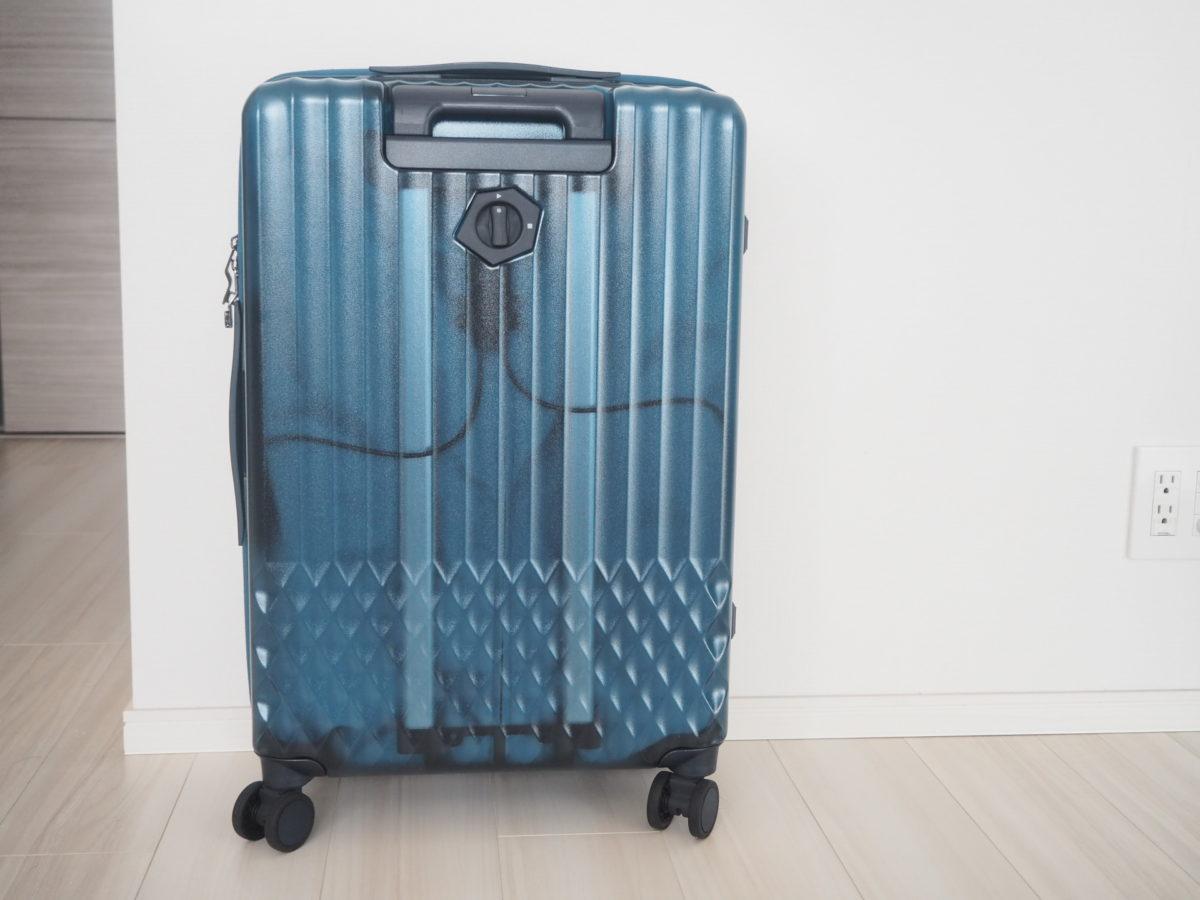 エース(ACE)のハントソロ(HaNT solo)スーツケースの裏側