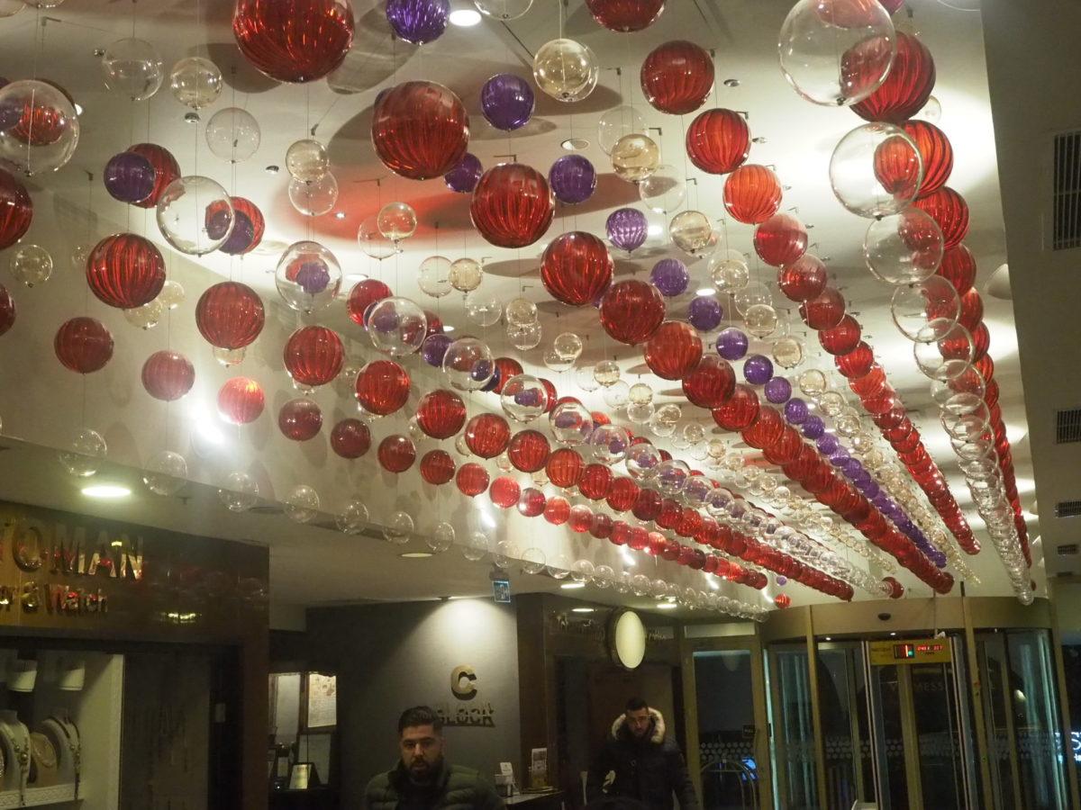 スラハギアソフィアホテル(Sura Hagia Sophia Hotel)のロビー