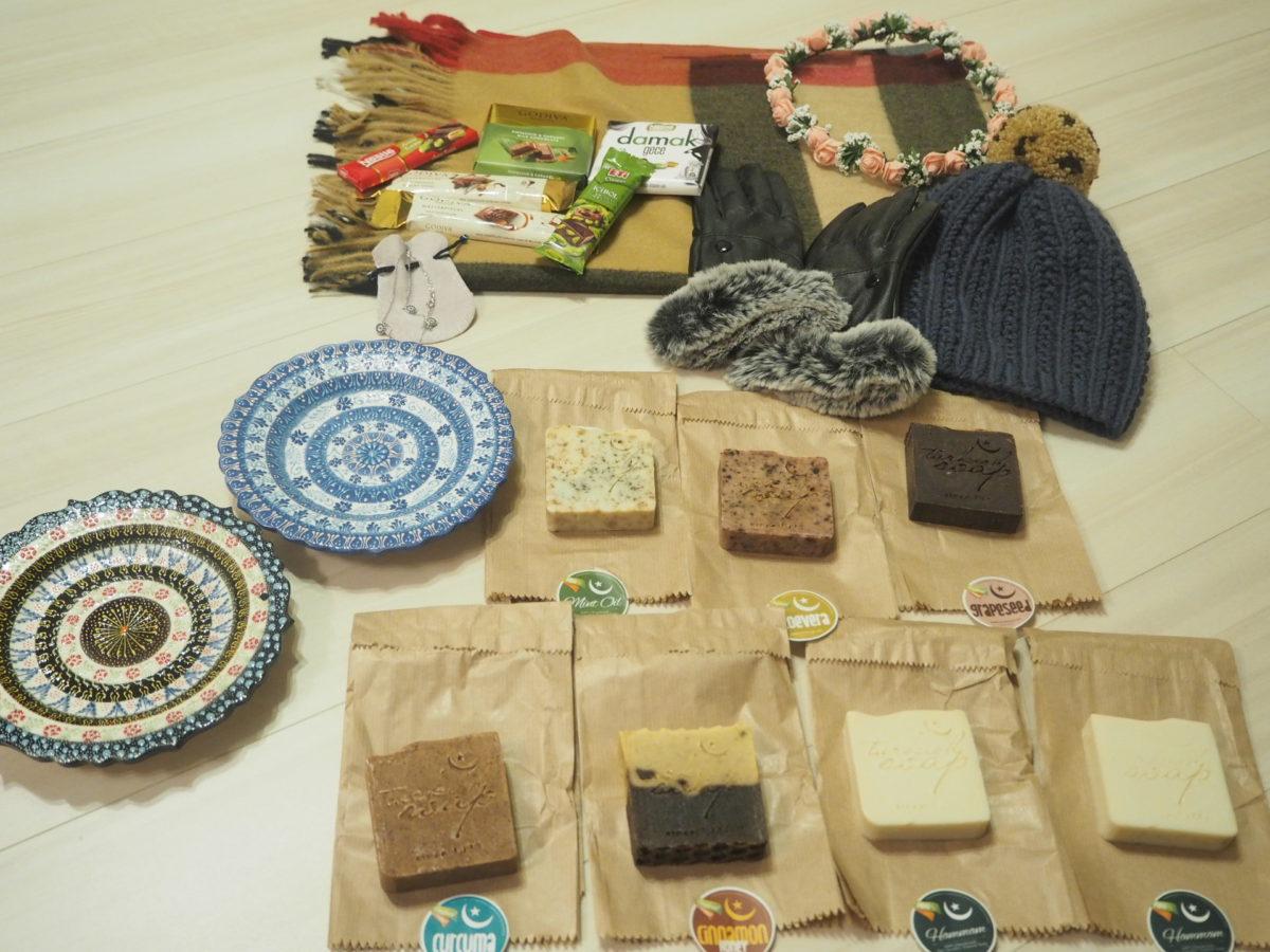 トルコで購入したお土産をブログで紹介