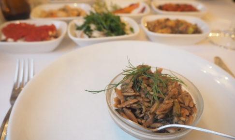 イスタンブールのトルコ料理レストラン「ギリットリ」