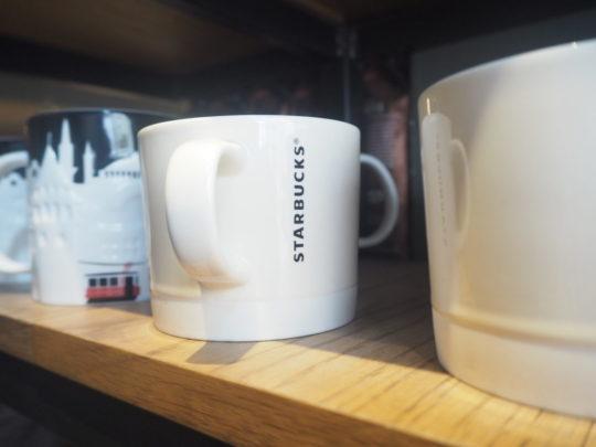 イスタンブールのスタバ 無地マグカップ