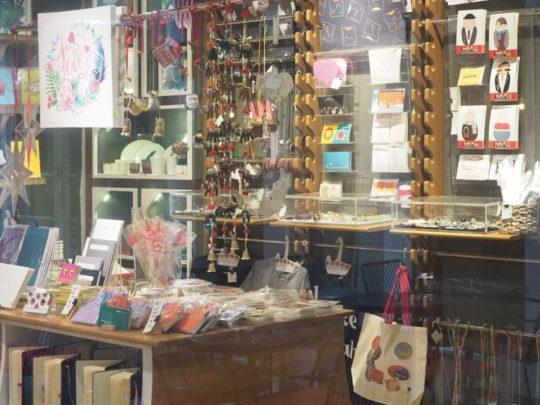 イスタンブール新市街のかわいい紙雑貨